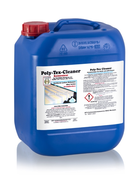 Poly Tex Cleaner canister